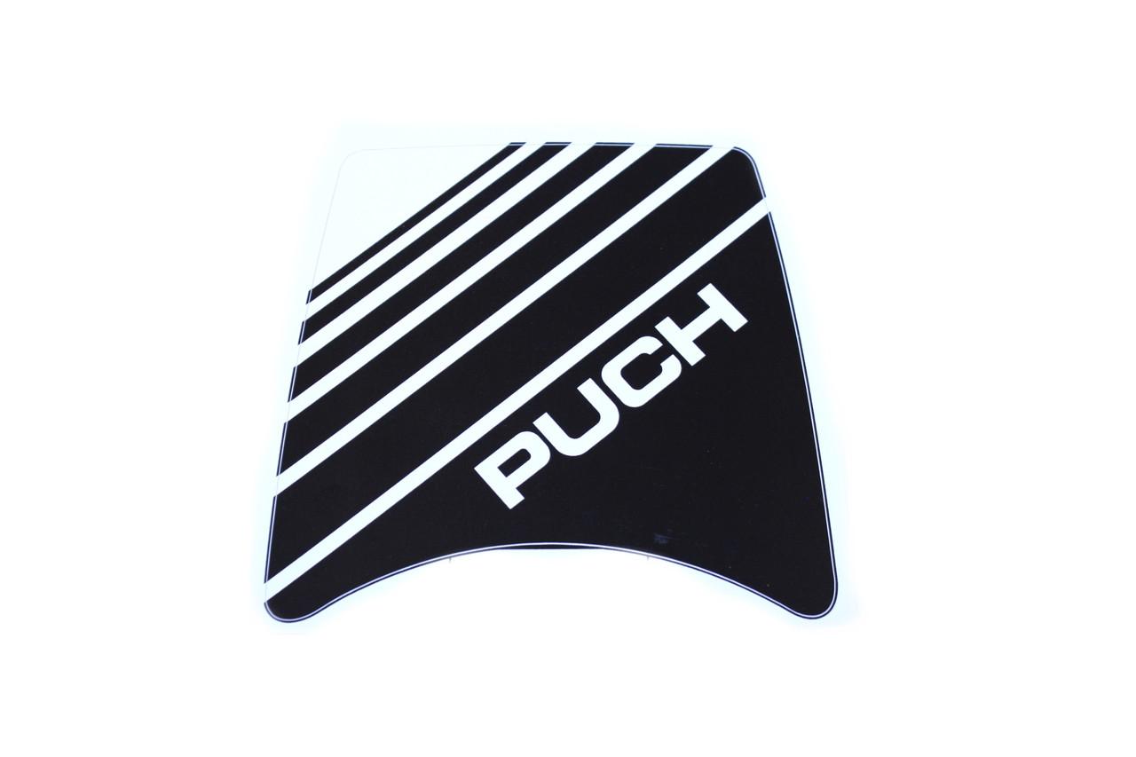 Puch Maxi Headlight Fairing Decal , Black or Blue