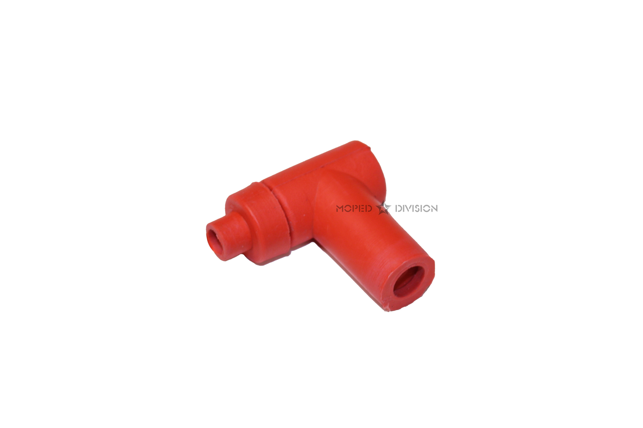 Replacement Spark Plug boot / Cap, T shape - Red