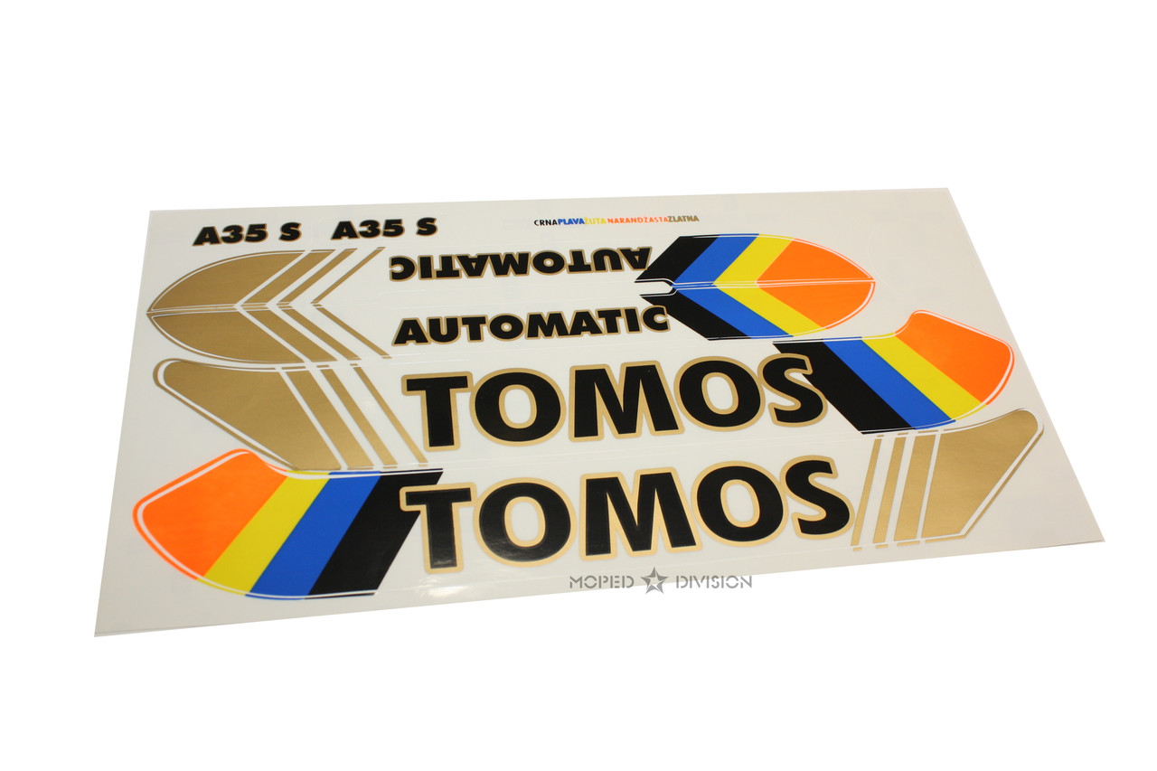 Tomos A35 Decal Pack - Automatic