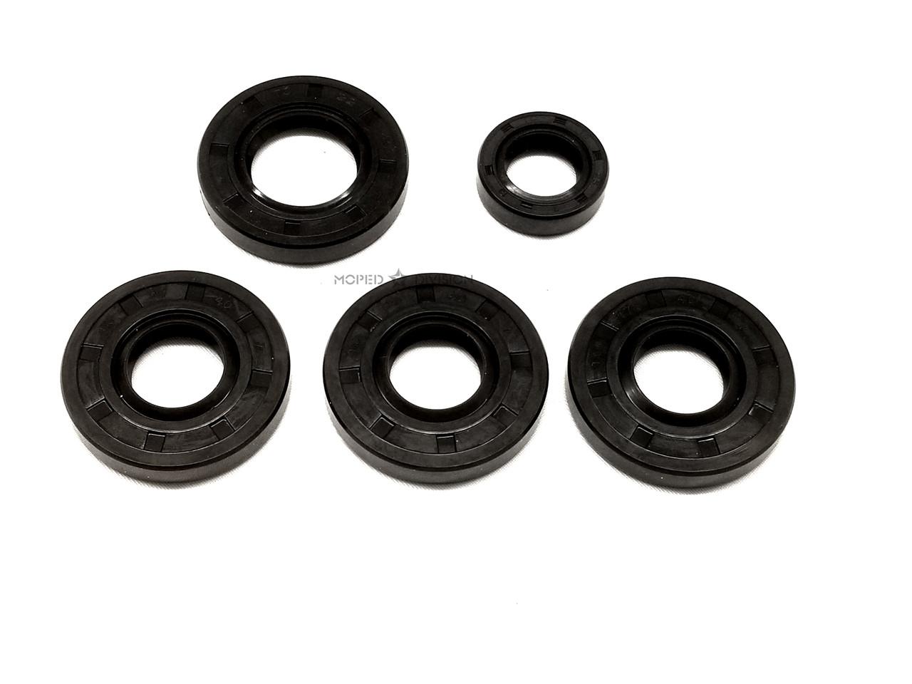 Puch Maxi E50 Oil Seal Set - Kickstart