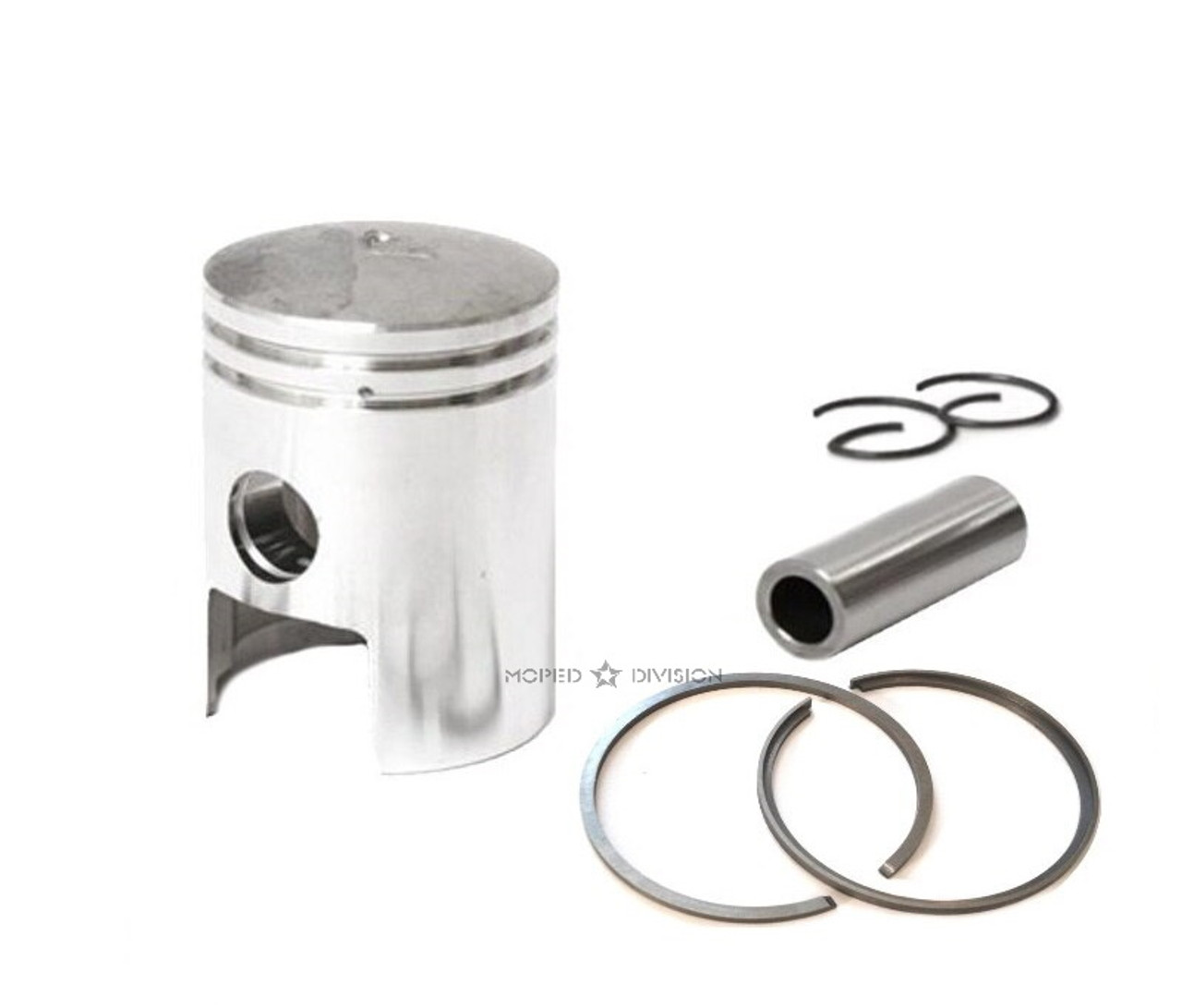 Piaggio Vespa Kinetic 38.4mm Stock Piston Kit - 12mm Wrist Pin