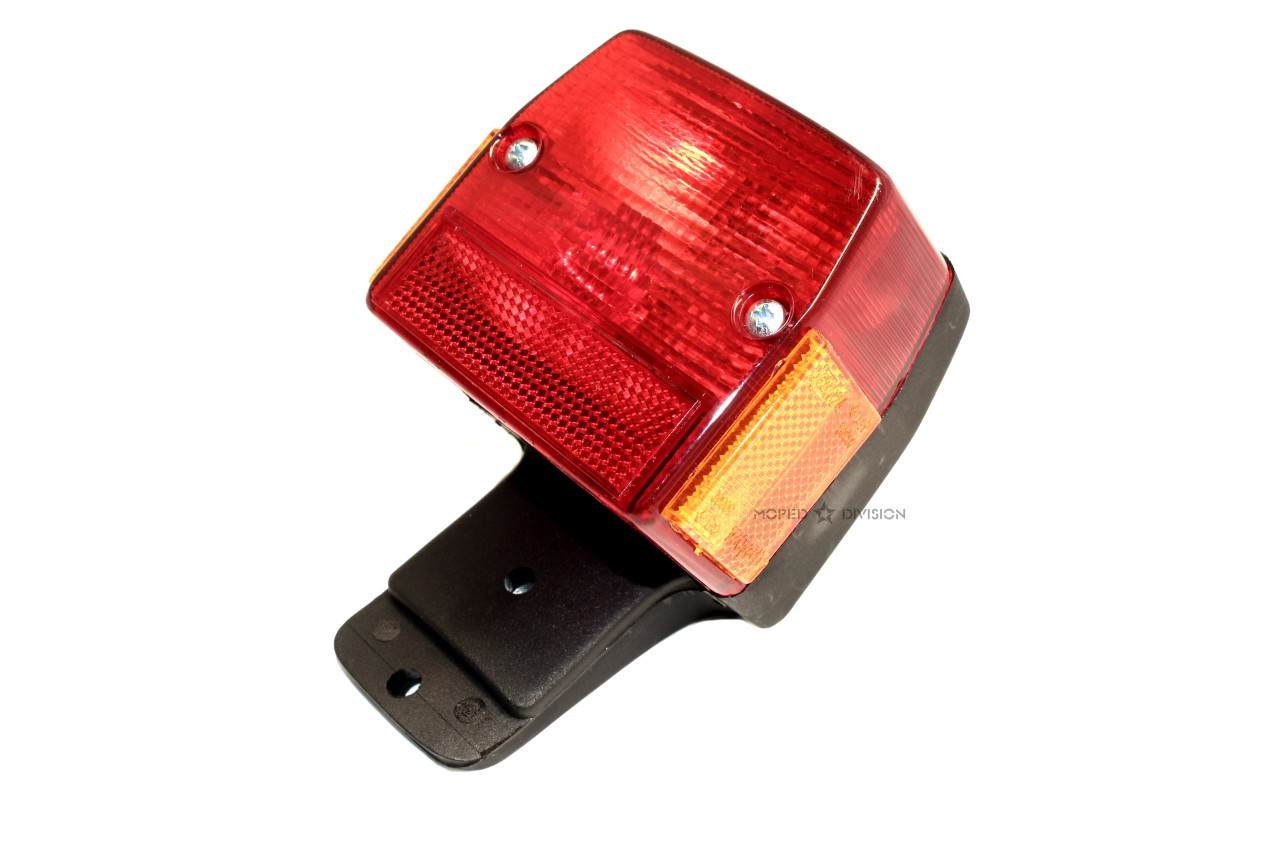 Tail Light Assembly for Puch, Peugeot, Tomos, etc - ULO Style
