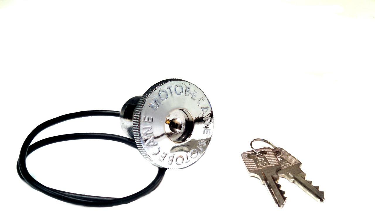 Motobecane Locking Gas Cap, 30mm