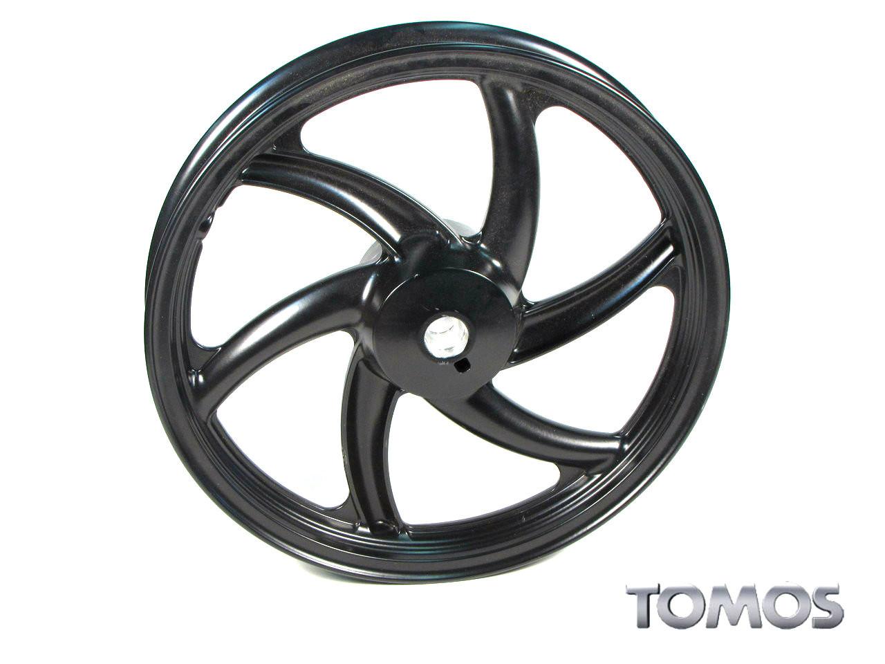 """Disc Brake 16"""" Black Front Wheel Tomos Streetmate  237003"""