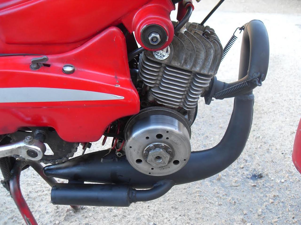 Turbo Kit Chrome Exhaust for Motobecane, Mobylette AV7 / AV10 / AV88