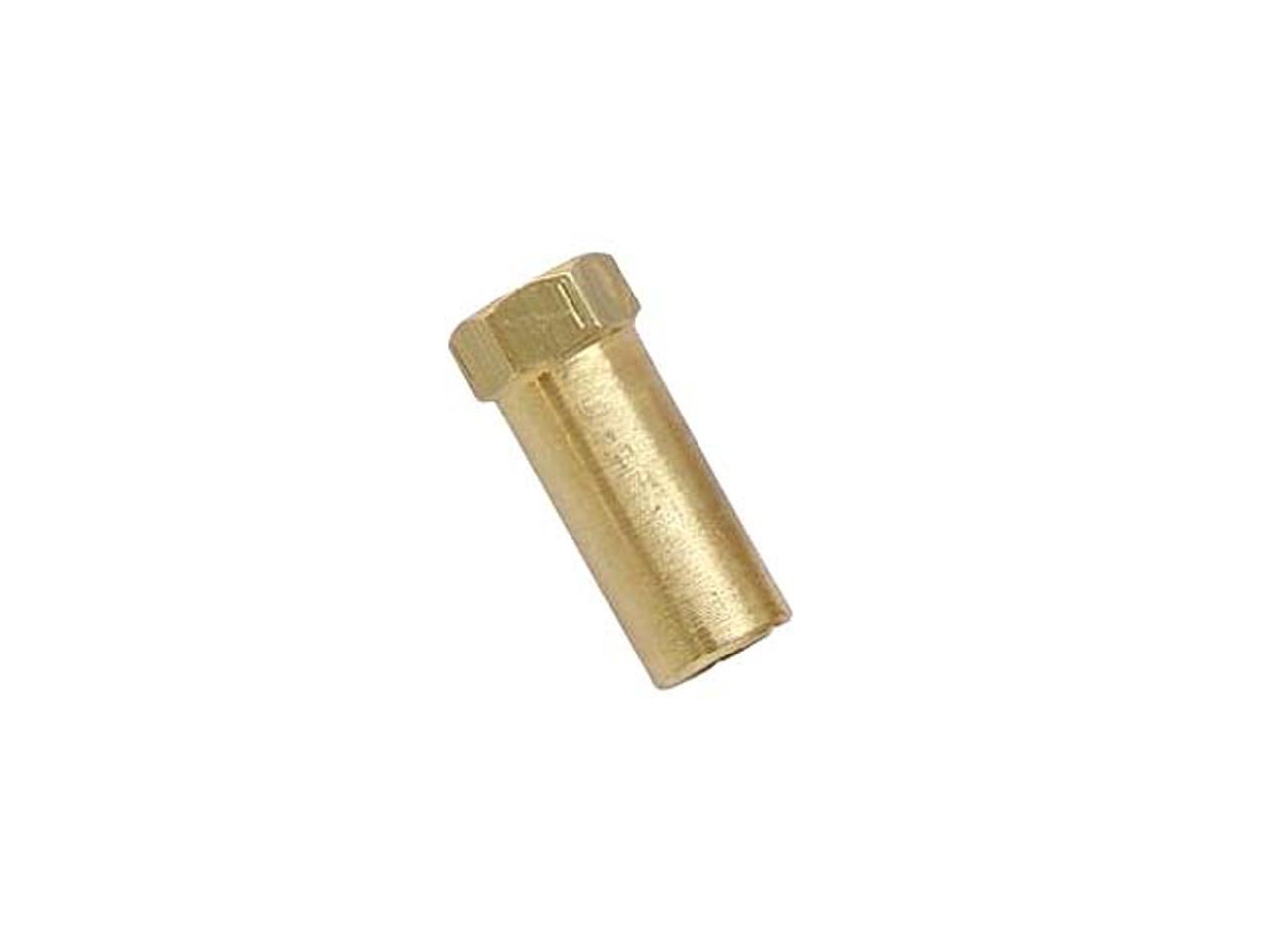 Extra Tall Brass  Exhaust Nut M6 x 25mm  (SOLD EACH)
