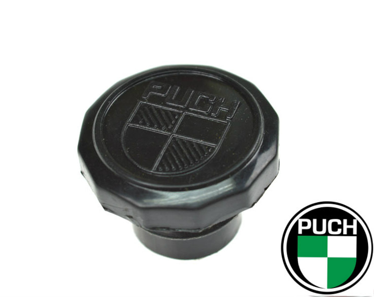 NOS Puch  Plastic Gas Cap with Logo