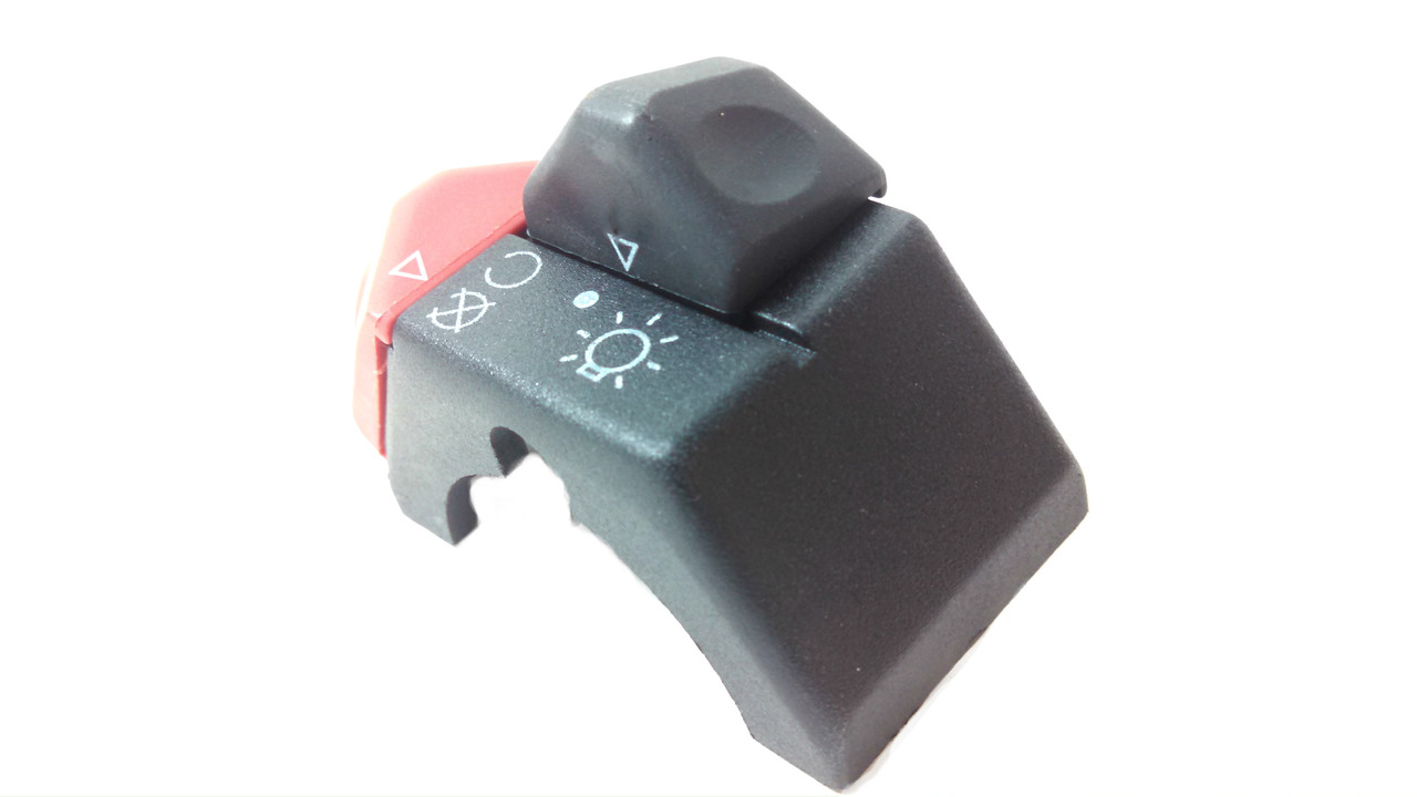 Tomos Right Hand Control Switch w/ Lights and Engine Kill