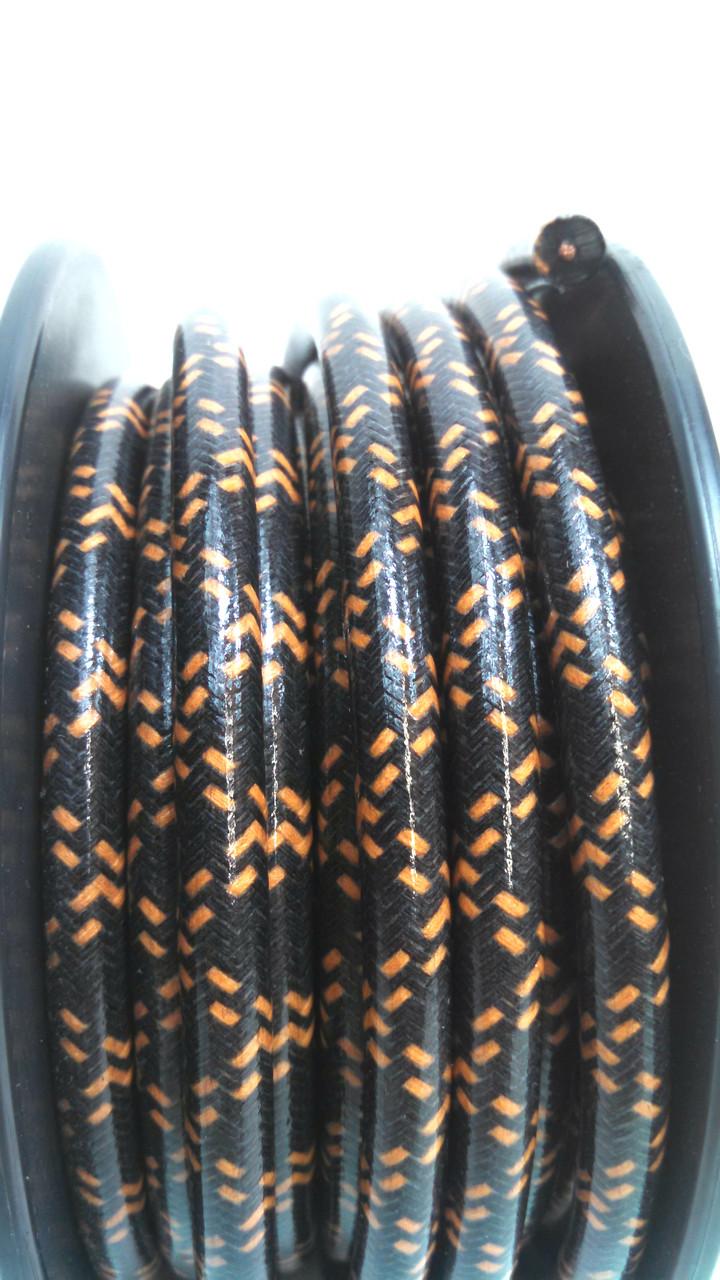 Orange Spark Plug Wires on