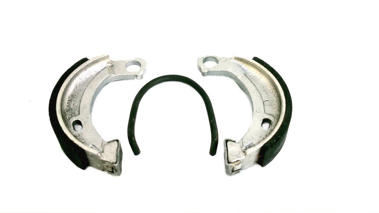 Brake Shoe Set 90mm x 18mm, Circle End -Single Spring