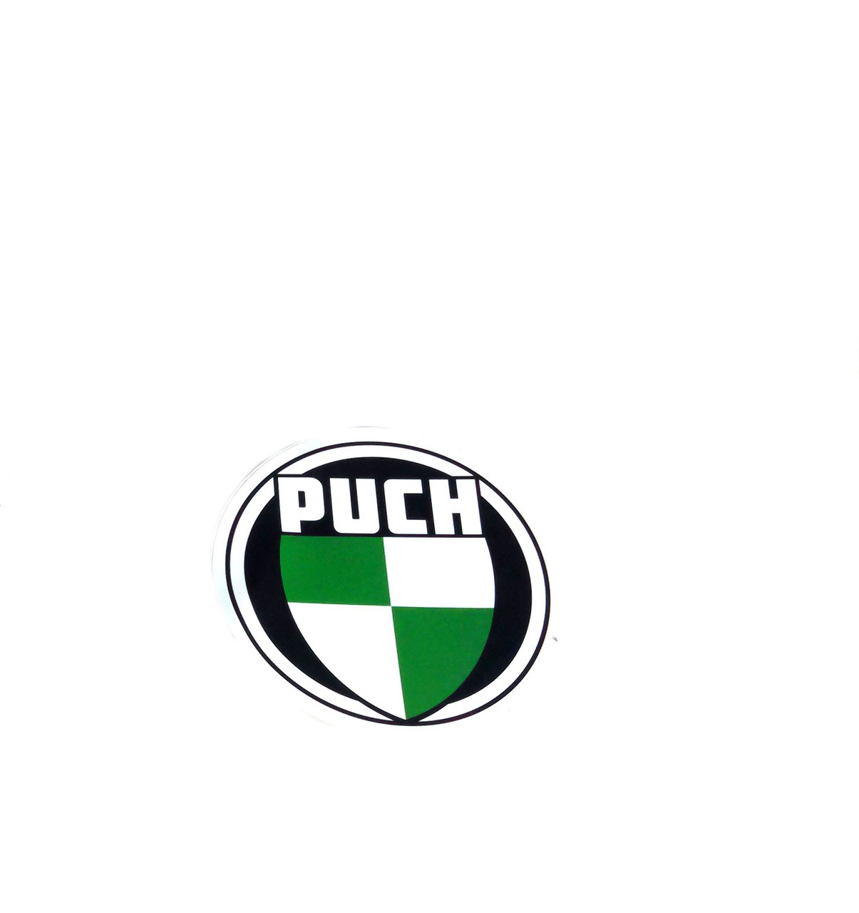 Puch Logo, Large round decal *style 1*