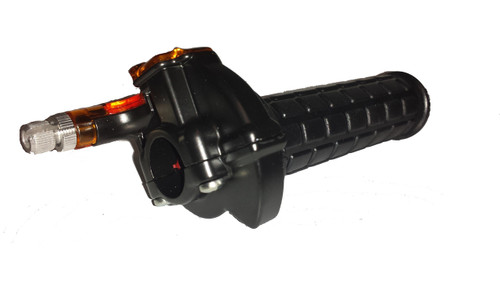 """Universal Moped Throttle Assembly w/ Left Grip -7/8"""""""