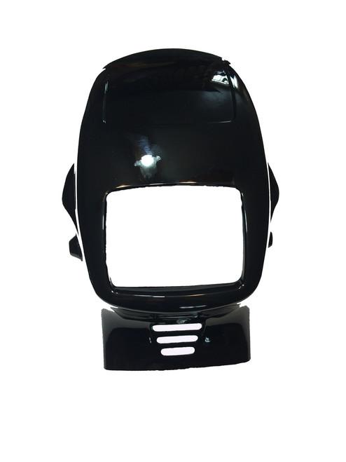 NOS Tomos Headlight Fairing - Black