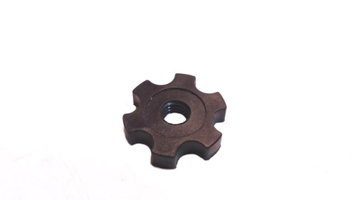 Black Plastic 6mm Cable Adjuster nut