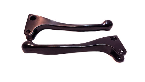 Metal Brake Lever Set for Puch and Tomos A3 Mopeds - Magura style