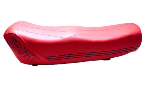 Honda Hobbit / Vespa Citta Sport Long Red Seat  *SMALL TEAR*