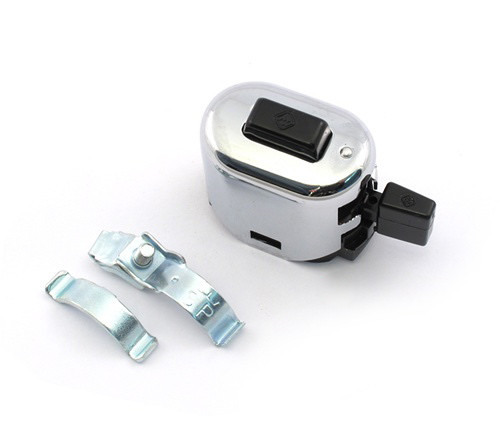 Merit Style Universal Chrome control switch Puch, Zundap and other Mopeds