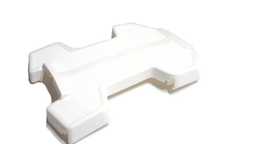 Puch Maxi Floorboard / Center Foot Rest White - Fits European models