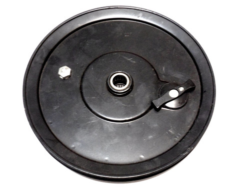 Motobecane Stock Pulley with 11 Tooth Gear and Pedal Engagement Lever - Black