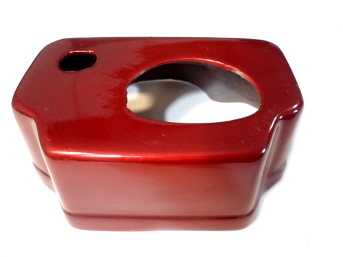 NOS Avanti Red Moped Dashboard / Speedo & Ignition Housing - Bare