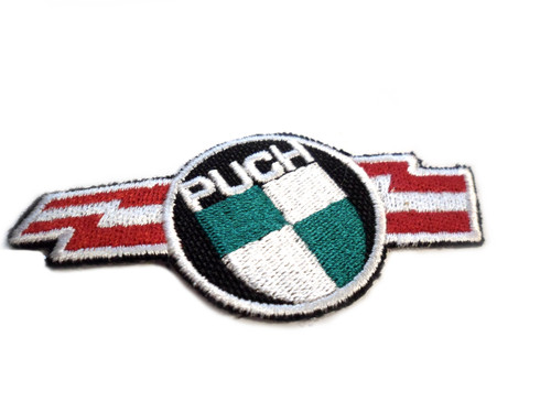 Fabric Puch Logo With Lightening Bolt Patch