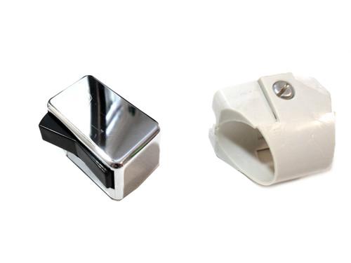 NOS Universal Moped Light / Horn / Kill / Turn Switch - Chrome