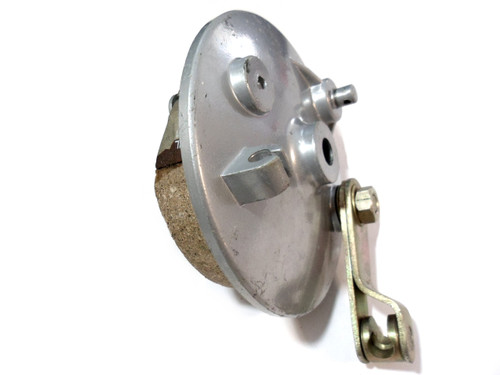 Avanti Moped Rear Brake Plate w/ Pads and lever assembly - 105 x 25mm
