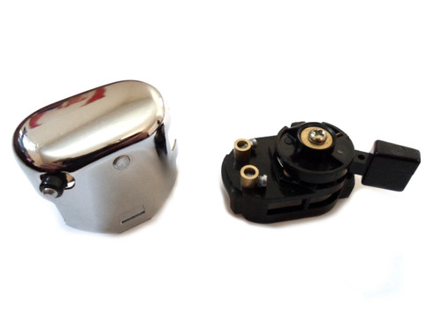 Merit Style Universal Chrome control switch for Many Mopeds - Version 2