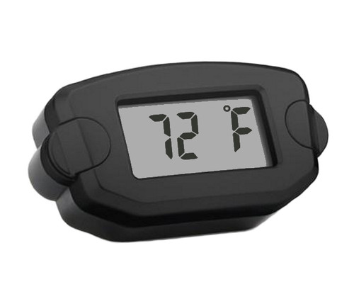 Trail Tech TTO Universal Temperature Digital Gauge, 14mm - Black