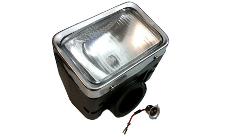 Original Kinetic Moped Complete Headlight Assembly, No Turn Signals, TFR - 03211207