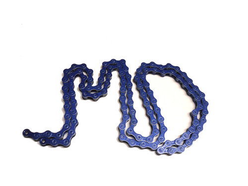 KMC Z410 1/8 Inch Bicycle Chain, 112 Links - Deep Blue Sea