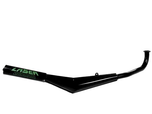 Tomos A3 A35 Laser Exhaust - Black