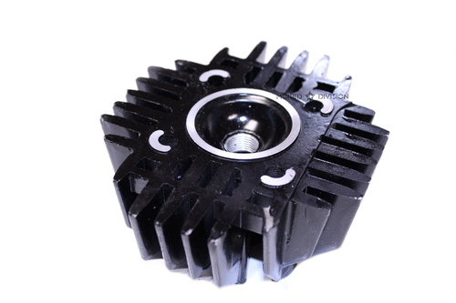 Tomos A3 50cc 38mm Cylinder Head, Cast Iron - Black