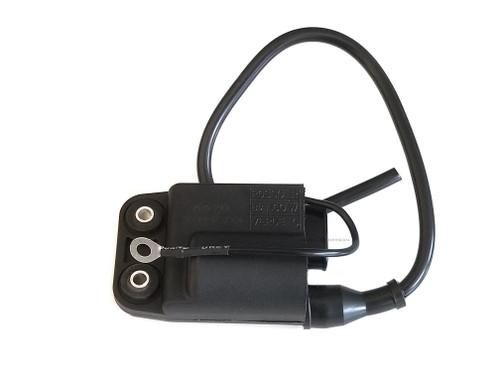 Vespa Piaggio Kinetic CDI & Ignition Coil w/ Wire (Ducati Style) - Black
