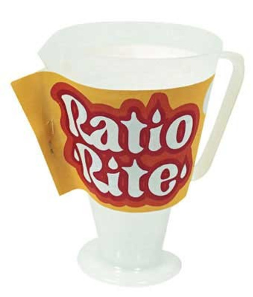 Ratio Rite Oil mixing cup for 2 stroke pre-mix engines