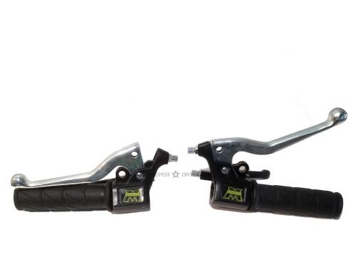 Motobecane Hand Control Set - Dual Lever Original Style
