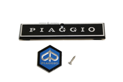 Piaggio Vespa Moped and Scooter  Emblem  Set
