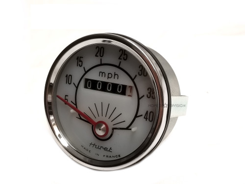 NOS Huret 40MPH Motobecane Speedometer with Backlight