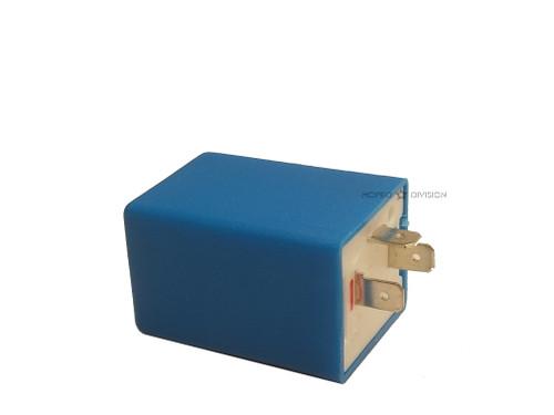 Vespa Piaggio 6V / 12V Turn Signal Flasher Relay - 3 prong - 10W/21W