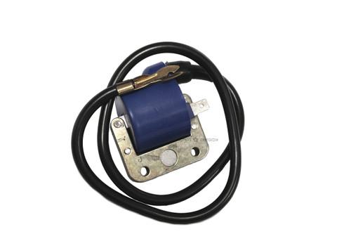Vespa Piaggio Ignition Coil with Spark Plug Wire - Blue