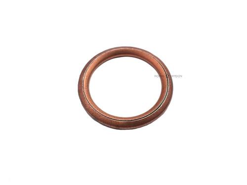 Copper Exhaust Seam Ring Gasket, fits Honda, MBK, PGT - Polini