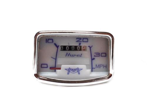 NOS Huret Motobecane  Speedometer - 35 MPH