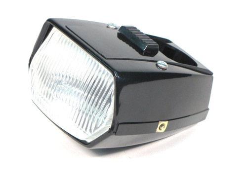 Black Euro Style Headlight with Switch