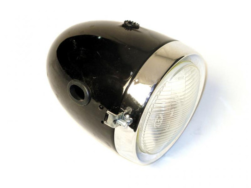 CEV Bullet Headlight, Non-Sealed beam. For mopeds and cafe racers.