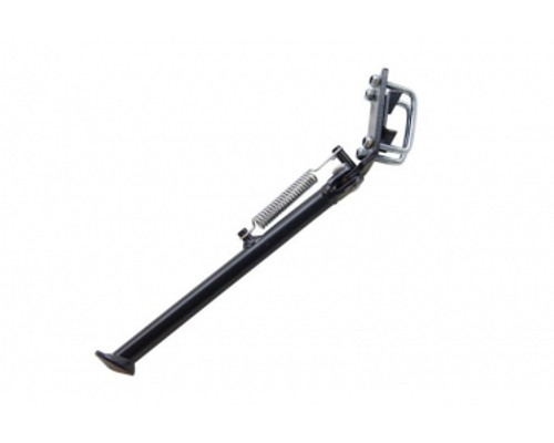 """Tomos Style Black Kickstand for Square swing arms.  9"""" Long"""