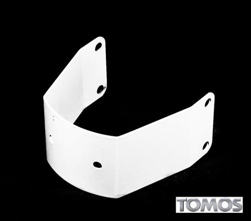 Tomos OEM White Front Fender Bracket for A55 LX, ST, Sprint  242056wht