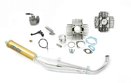 Tomos  A35 Complete Performance Package with Carburetor, Exhaust, 70cc Cylinder Kit