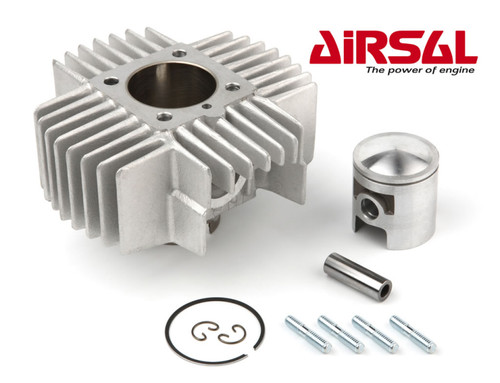 Tomos A55 70cc Airsal Cylinder Kit with Head - Moped Division