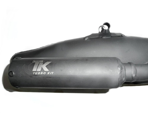 Turbo Kit Black Exhaust for Motobecane, Mobylette AV7 / AV10 / AV88