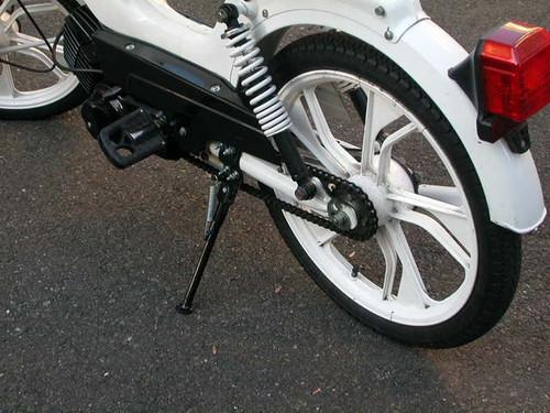 Kickstand mounted